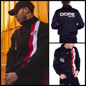 DOPE 🏎 DPSP Racing Track Jacket NWT